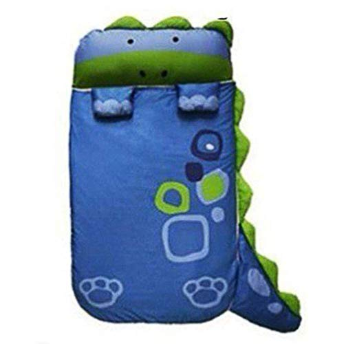 EsTong Unisex Children's Sleeping Bag Dinosaur Kids Camping Indoor Outdoor Traveling Sleepsacks Dinosaur ()