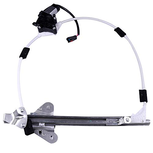 ROADFAR Power Window Regulator and Motor Replacement Parts fit for 1997-2001 Jeep Cherokee 4 Door Front Right Passengers Side 55154958AI 55155012AI -
