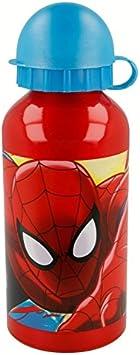 Stor Botella Aluminio 400 ML | Spiderman Red Webs: Amazon.es ...
