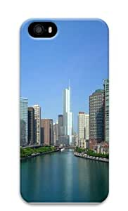 City On Banks Custom iPhone 5s/5 Case Cover Polycarbonate 3D