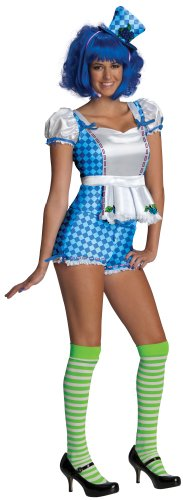 Blueberry Shortcake Costumes (Secret Wishes Strawberry Shortcake berry Muffin and Accessories,Blue/White, Small)
