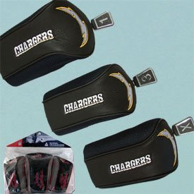 Mcarthur San Diego Chargers Mesh Barrel Headcovers (3 Pack) Size: 3 Pack