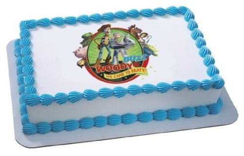 Toy Story Woody Edible Cake Image by DecoPac