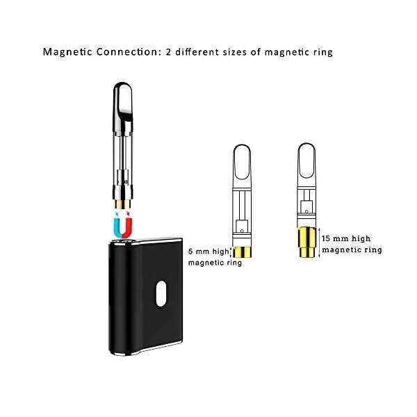 Mini CBD Vape Pen with 450mAh Battery & Portable CBD Vape Mod for CBD E-Liquid & CBD Oil (No Nicotine, No Liquid)