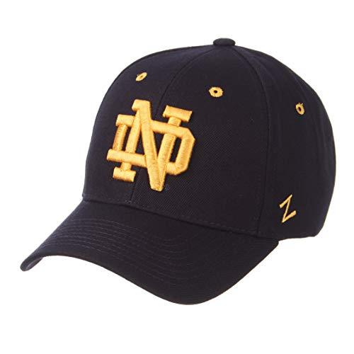 ZHATS University of Notre Dame ND Fighting Irish Blue Competitor DH Plastic Snapback Baseball Hat/Cap Size -