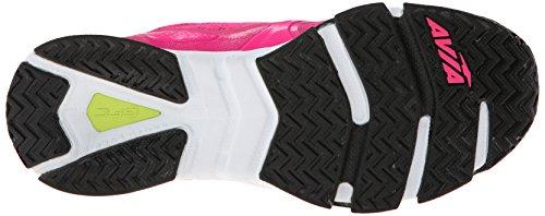 Avia GFC intenso zapato de Cruz de formación de la mujer Athena Pink-Black-Lime Shock