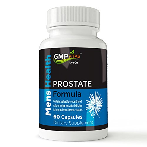 Prostate formula - Natural Supplement for Prostate Health, Bladder Relief and Improved Urinary Flow - With Saw Palmetto, Pygeum - 60 Capsules