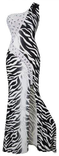Zebra Print Formal Dress - 2