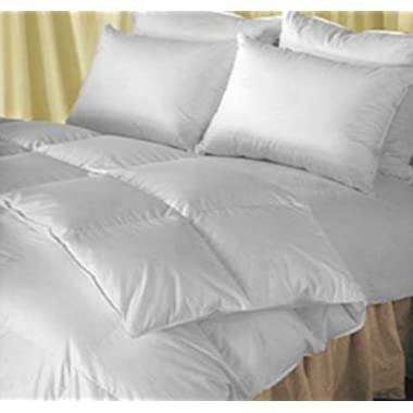 Natural Comfort King Classic Heavy Fill Down Alternative Duvet Insert Comforter, White