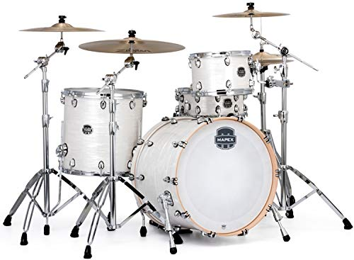 Mapex Saturn V Tour 22 3-piece Shell Pack - White Marine