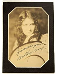 Dorothy Gish Signed Vintage 6.5x4.5 Photo - Matted - Signed in Fountain Pen - Very Rare - D.W. Griffith Star - The Infomer / Ben-Hur - Collectible