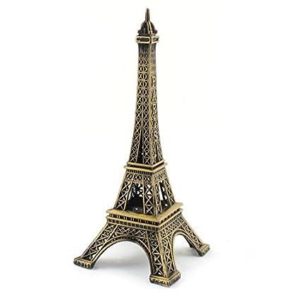 Amazon.com: DealMux metal mesa de escritório Decor Miniature ...