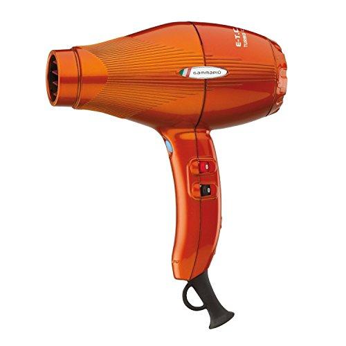Gammapiu ETC Light: Most Powerful Compact Ionic Hair Dryer - Orange