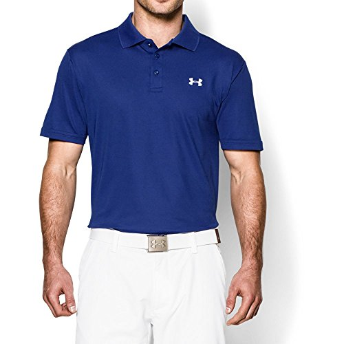 Under Armour Men's Performance Polo, Royal (400)/White, XX-Large (Golf Blue Monster)