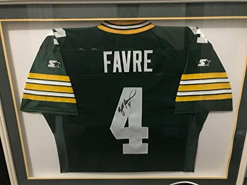 (Brett Favre Autographed Signed Green Bay Packers Authentic Starter Jersey Memorabilia JSA Loa - No Frame)