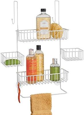 Amazon.com: MDesign - Organizador para puerta de baño ...