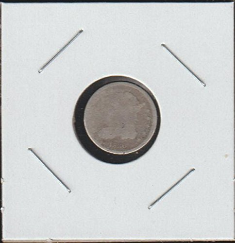 Bust Silver Dime (1836 Capped Bust (1829-1837) Half Dime About Good)