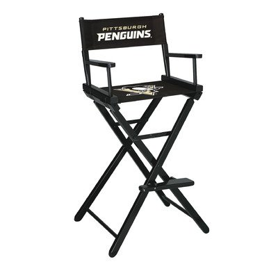 NHL Pittsburgh Penguins Bar Height Director's Chair