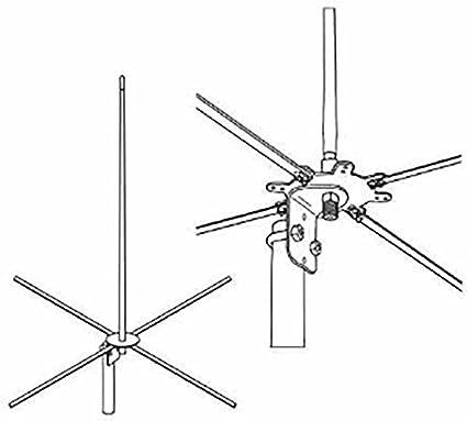 Amazon.com: firestik 2 mckb 4 ft -122 cm Base Antena de 2 ...