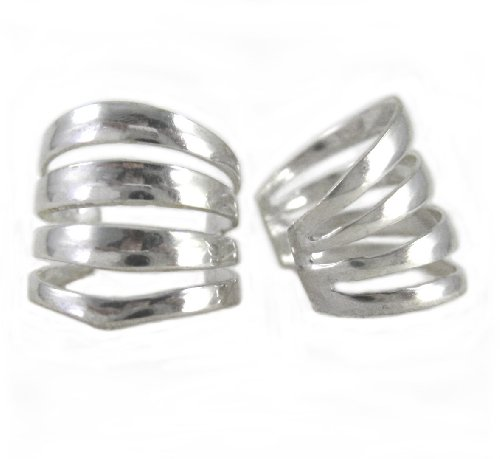 Sterling Silver Four Open...