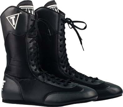 TITLE Hi-Top Boxing Boots, 11, BK