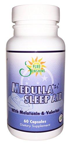 Medulla Zzz® Sleep Supplement -with Melatonin ,Valerian & P