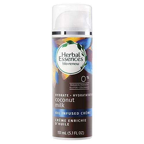 Herbal Essences Biorenew Coconut Milk Oil Infused Crème, 5.1 FL OZ (Leave Essences Conditioner In Herbal)