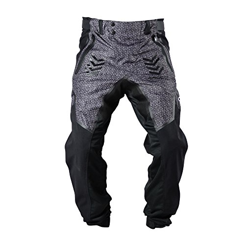 Valken Paintbal Pants - Phantom Agility-Standard Cut-Black-XS Black