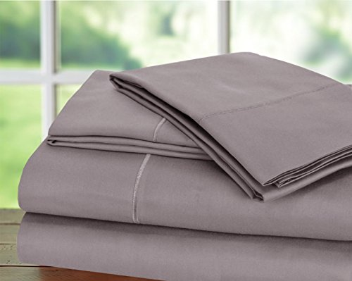 Hotel Collection! Luxury Sheets on Amazon Top Seller in Bedding! - Blockbuster Sale: Todays Special - Luxury 1000 Thread count 100% Egyptian Cotton Sheet Set, King - Lilac by CHATEAU HOME COLLECTION