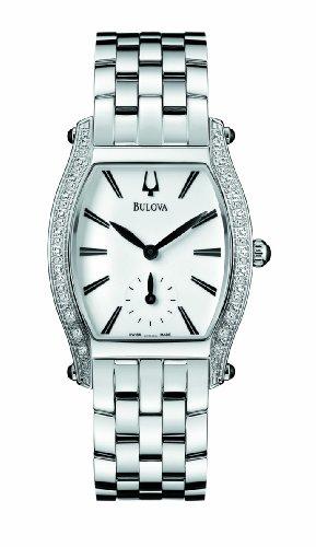 Bulova Accutron Saleya Diamond Bezel Stainless Steel Womens Watch 63R005
