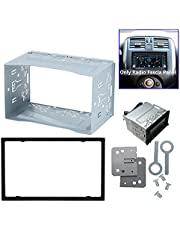 2 DIN DVD Player Frame Mounting Plate for Car Vehicle Cage Radio DVD Player Mounting Frame Accessory