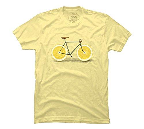 Zest Men's 2X-Large Banana Cream Graphic T Shirt - Design By Humans