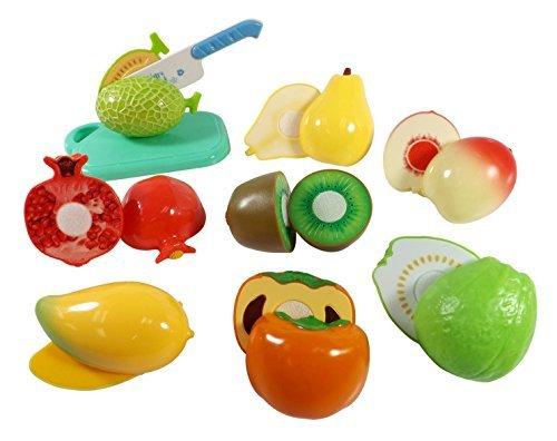 Liberty Imports Kitchen Fun Cutting Fruits Super Food Playset for Kids