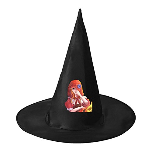 Little Red Riding Hood Grimm's Fairy Tales Printing Halloween Witch Hat Cosplay Fantastic (Scary Fairy Tales Costumes Adults)