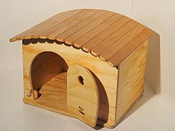 Novedad Blitzen, GinaBig Ouverture, Indoor Caseta para gatos de Grossa Talla y perros Pequeño Talla con tejado tiragraffi.: Amazon.es: Jardín