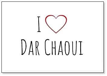 Aimant de r/éfrig/érateur Mundus Souvenirs Jadore Dar Chaoui d/ésign 1