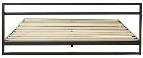 Zinus Trisha 7 Inch Platforma Bed Frame with Headboard / Mattress Foundation / Box Spring Optional / Wood Slat Support, King