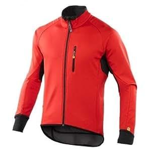 Chaqueta térmica Mavic Espoir rojo para hombre (Tamaño: M (Mavic Size: L))