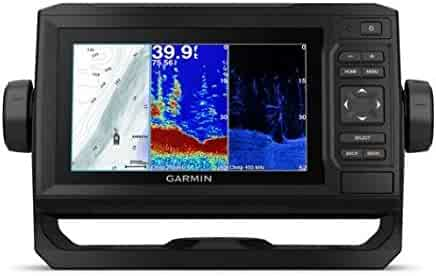Garmin 010-01889-01 Echomap Plus 63Cv with Cv20-TM transducer, 6 inches