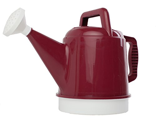 Bloem DWC212-6 6-Pack Deluxe Watering Can, 2.5-Gallon, Union Red by Bloem