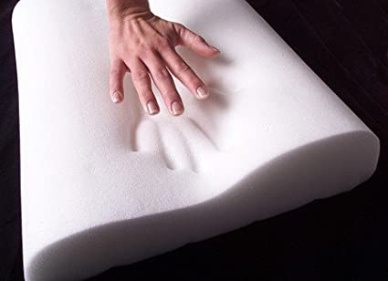 Almohada de Salud Espuma viscoel/ástica Premium Almohada Cervical de Espuma termoactiva el/ástica y termoactiva