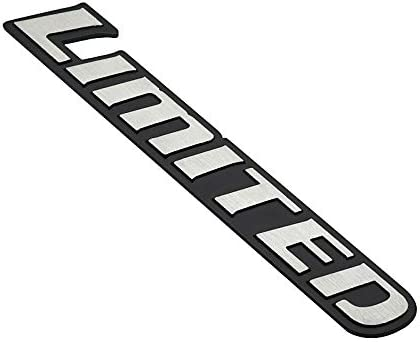 1PCS 3D Metal LIMITED Logo Emblem Tailgate Side Sticker Badge Decals Replacement For Universal Cars Chrome