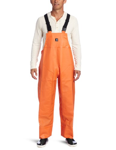 (Carhartt Men's Surrey Bib Overalls,Orange,Large )