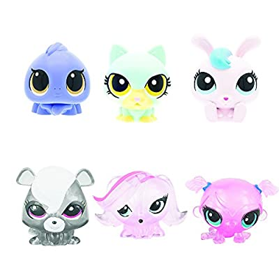 Tech 4 Kids Littlest Pet Shop Mashems Fashems Blind Pack Capsule - 4 Pack (4 Capsules Per Order): Toys & Games