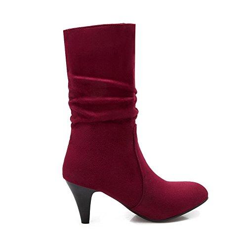 1TO9 - A Collo Alto donna, Rosso (Red), 35