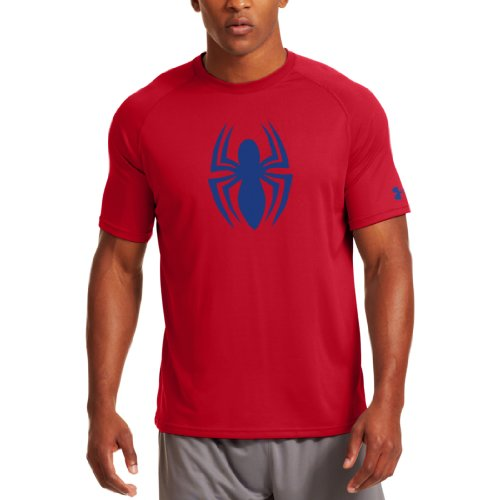 Under Armour Men's Alter Ego Spiderman T-Shirt - - Under Armour Shirts Spiderman