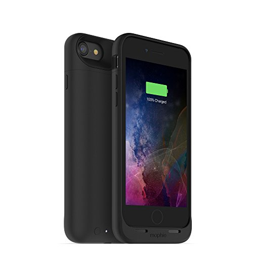 mophie juice pack Air - Slim Protective Battery Case for Apple iPhone 7 - Black