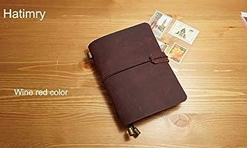 Amazon.com : Best Quality - Notebooks - Genuine Leather ...
