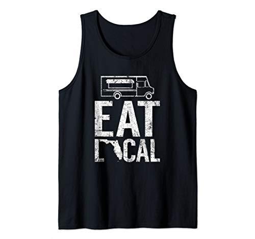 Eat Local Florida | Vintage FL Street Food Truck Tank Top