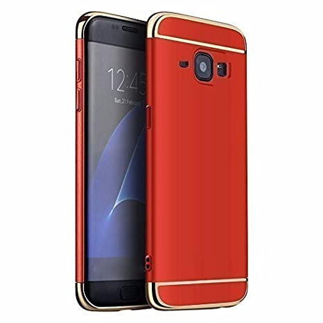 pretty nice 6cc54 c434a ERIT 3-in-1 Red Matte Finish Full Body Protective Back Cover Case for  Samsung Galaxy J5 2016 - Samsung J5 16 Back Cover